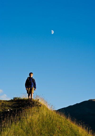 bimbo e luna © Giovanni Peretti